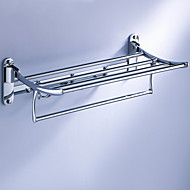 Multifuncțional pliere raft prosop cu cârlige