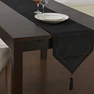 Chemins de table classiques noir