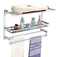 """Tyč na ručníky Chrom Na ze´d 600 x 356 x 216mm (23.6 x 14 x 8.5"""") Hliník Moderní"""