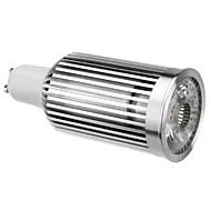 GU10 10W 780-820LM 2700-3500K Branco Quente COB Lâmpada LED spot (110-240V)
