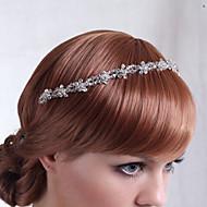 Licht Metaal Vrouwen Helm Bruiloft/Speciale gelegenheden Bloemen Bruiloft/Speciale gelegenheden