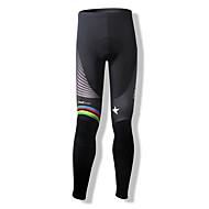 SPAKCT Bisiklet Taytları Kadın's Erkek Unisex Bisiklet Bisiklet Tayt Pantalonlar Alt GiyimlerNefes Alabilir Sıcak Tutma Hızlı Kuruma