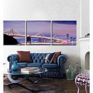 Stretched Canvas Art Landscape Brooklyn Bridge Set of 3