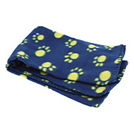 Cat Dog Cleaning Towel Pet Blankets Cartoon Soft Rainbow