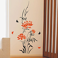 Floral Spring Scene Wall Stickers