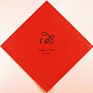 Guardanapos personalizados do casamento eu (mais cores)-conjunto de 100