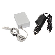 Car + Home Wall Charger For New Nintendo DSI NDSi LL XL
