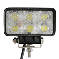 6 светодиодов 18W прямоугольник свет работы