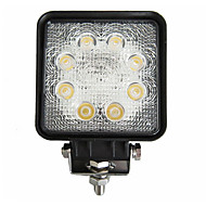 24W 8 LEDs Square Work Light
