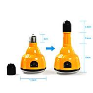 E27 4W LED bílá žárovka Dobíjecí nouzové světlo Svítilna Spotlight s dálkovým ovládáním (Cis-57183)