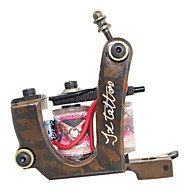 Messing Carved Top Kwaliteit Tattoo Machine Gun voor liner