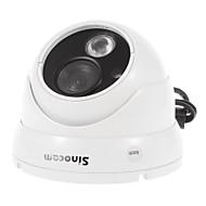 sinocam® 1.0Mp dia 4 milímetros de visão noturna vandalproof ONVIF ip câmera (detecção de movimento apoio, p2p)