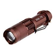 Lanternas LED Modo 1000 Lumens Foco Ajustável Cree XM-L T6 16340Campismo / Escursão / Espeleologismo / Uso Diário / Ciclismo / Viajar /