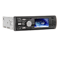 3 Inch 1Din TFT Screen In-Dash Car DVD Player Support USB/SD, FM - 310