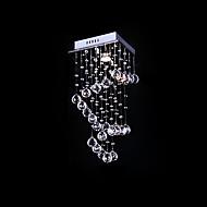 irregolare moda 1 luce montaggio a filo in decorazione di cristallo