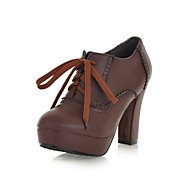Women's Chunky Heel & Platform Booties/Ankle Boots Party Shoes(More Colors)