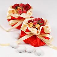 12 Stück / Set Geschenke Halter Satin Geschenktaschen Nicht personalisiert