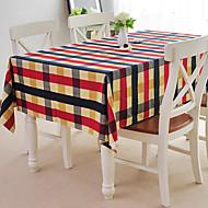 linge de table, de coton, style campagnard, vichy