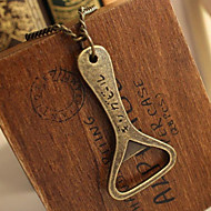 Creative Bottle Opener decapper long paragraph sweater chain necklace N79