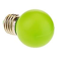 Bulb E27 1W 12 - LED 50LM האור הירוק LED גלוב (220V)