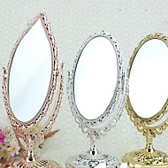 "8""H European Retro Style Oval Tabletop Mirror"