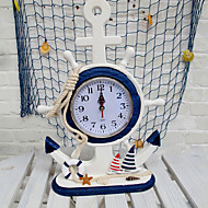 """14 """"Modern Tipi Doğu Akdeniz Stil Yelkenli Masaüstü Saat"""