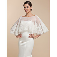 Beautiful Lace Evening/Wedding Puncho (More Colors)