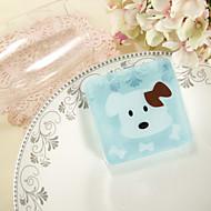 Light Blue Puppy jabón Juego de 6