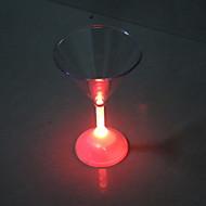LED knippert cocktailglas
