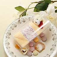 Lovely Bear Swiss Roll Cake Towe - Set van 6