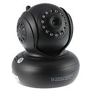 wanscam® PTZ IP biztonsági kamera 720p nappal este IR-cut p2p vezeték nélküli