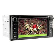 6.2inch 2 DIN Universal DVD-плеер автомобиля для Toyota до 2006 с 3G, WiFi, GPS, IPOD, RDS, BT, ТВ, сенсорный экран