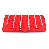 Amazing hedvábí s Rhinestone Spojky / Večerní kabelky (Více barev)