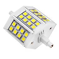 5W R7S Lâmpadas de Foco de LED 24 SMD 5050 440 lm Branco Frio AC 85-265 V