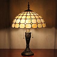 Kontrollera Lampa Mönster Bord, 2 Svag, Tiffany Resin glasmålning