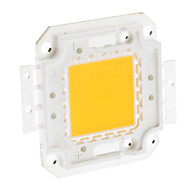 DIY 100W 7900-8000LM 3000mA 3000-3500K Warm White Light Integrated LED Module (32-36V)