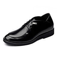 Men's Shoes Wedding/Outdoor/Office & Career/Dress/Party & Evening Leather Oxfords Black