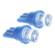 Ampoule T10 0.2W Light Blue LED pour la voiture (12V DC, 2 pcs)