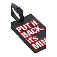 Reisebagasjemerke - Legg den tilbake, det er mitt