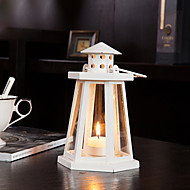 "8 ""H evropský styl Classic Lantern Iron Candle Holder"