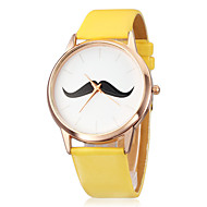 Women's Watch Minimalism Design Beard Pattern Cool Watches Unique Watches