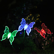 Solar Color-Změna Butterfly Garden Vklad Light (CIS-57254B)