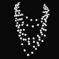 Collar Cumpleaños/Regalo/Fiesta/Diario/Casual/Al Aire Libre Perla De mujeres