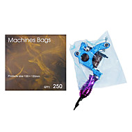 dragonhawk® 250pcs engangs hygiejne tatovering forsyning maskinkraft cover tasker sikkerhed