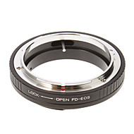 FD-EOS Camera Lens Adapter Ring (Fekete)