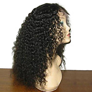 130% Density 100% Indian Human Glueless Full Lace Wig with Baby Hair Natural Hairline
