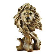 "11.25""H Modern Style Polyresin Lion Collectibles"