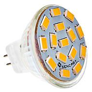 5W G4 LED bodovky MR11 15 SMD 5730 310-320 lm Teplá bílá / Chladná bílá AC 24 V