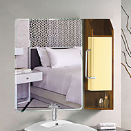 "21""H Contemporary Style Unframed Wall Mirror"
