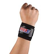 클래식 스포츠 체육관 탄력있는 신축성이 손목 관절 버팀대 지원 랩 밴드 - 프리 사이즈